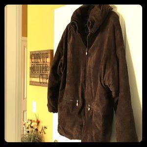 Express Suede Coat